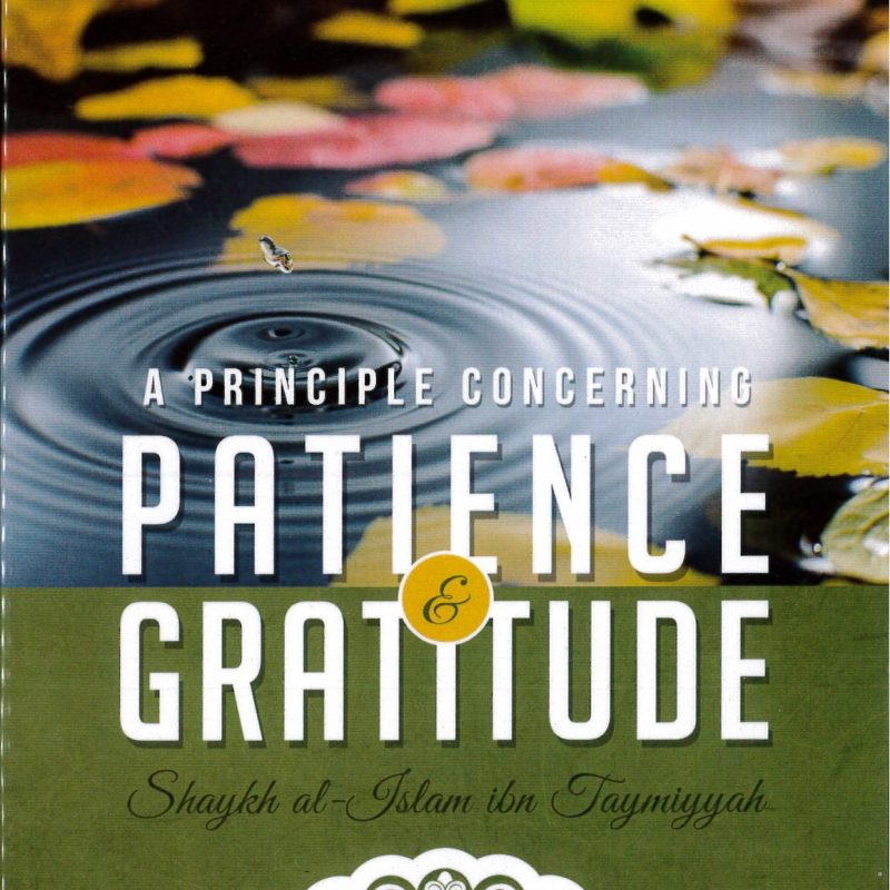 A Principle Concerning Patience & Gratitude by Shaikhul-Islam Ibn Taymiyyah